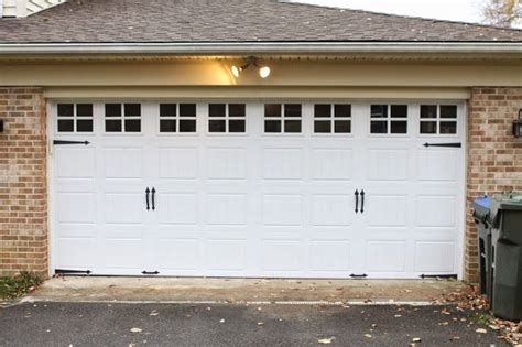 Garage Door Makeover Garage Door Makeover New Home Ideas