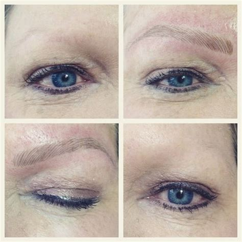natural eyebrow tattoo get the most looking hair stroke semi permanent