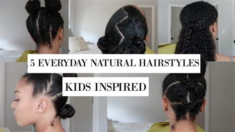 everyday hairstyles for toddlers 5 fun everyday hairstyles for natural hair kids
