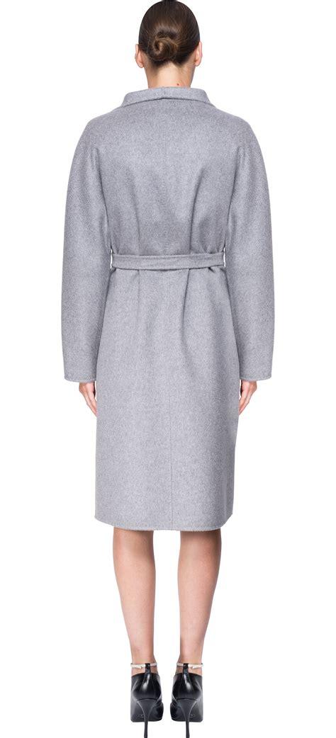 09 Maxi Maxmara Andini Tosca max mara lilia coat in gray lyst