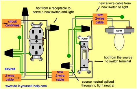 wiring diagrams  add   light fixture