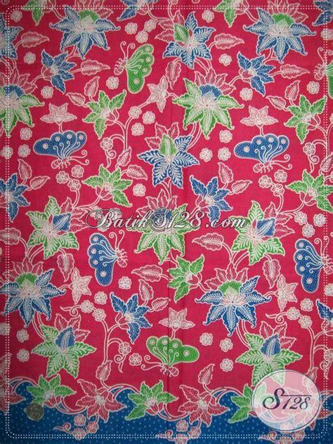 Kain Batik Pink kain batik motif modern kain batik warna pink cantik