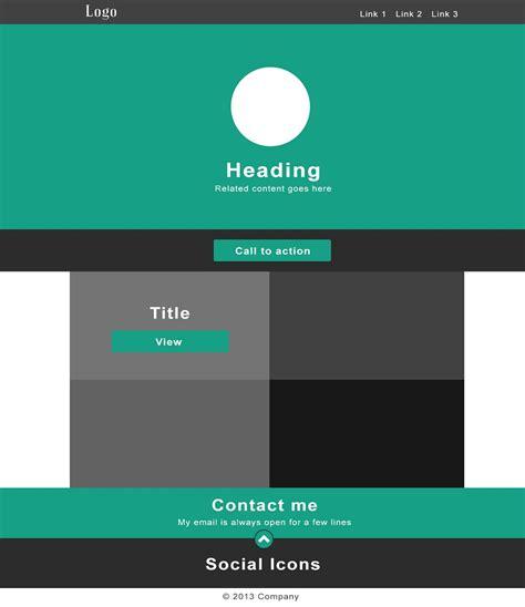 flat design template psd free flat design portfolio template psd free psd vector
