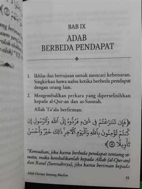 Buku Saku Etika Islam Sehari Hari buku saku tuntunan praktis adab harian muslim toko