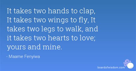 follow me back fight for me volume 2 books it takes two to clap it takes two wings to fly it