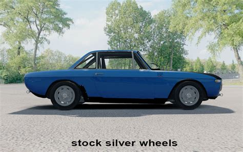 Lancia Fulvia Wheels Black Accented Wheels For Lancia Fulvia Hf Racedepartment