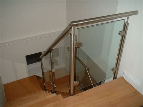 glass banister kits the many benefits of glass railing kit railing stairs