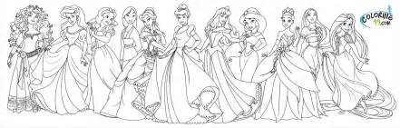 disney princesses coloring free coloring pages art coloring pages