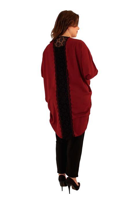 Blouse Jumbo 22 new womens 3 4 sleeve jumbo lace back cardigan shrugs