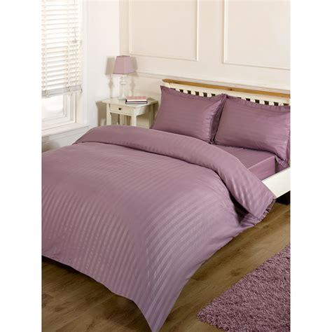 complete bed set silentnight satin stripe complete bed set king bedding b m