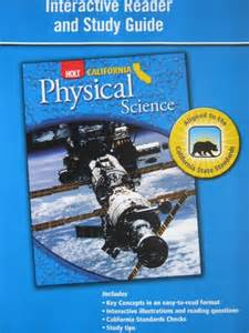 holt physical science california edition science spectrum