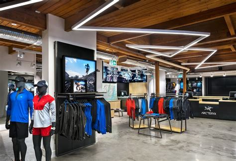 arc teryx opens flagship store in downtown vancouver this