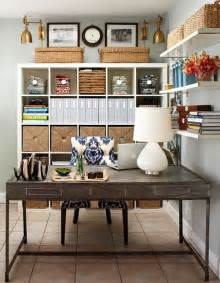 Office Desk Organization Ideas Organized Home Office Spaces Interiors B A S