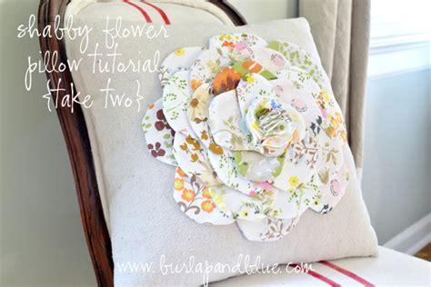 stoffa per cuscini tutorial cuscino in stoffa con fiorellone