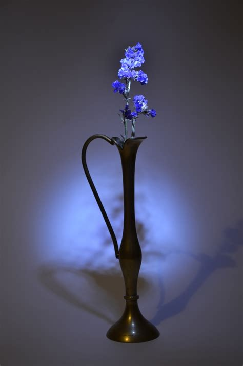 Blue Vase With Flowers by Vase With Blue Flower Free Photo Smart Photo Stock