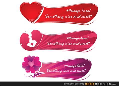 design banner valentine free valentine s day banner vector graphics free