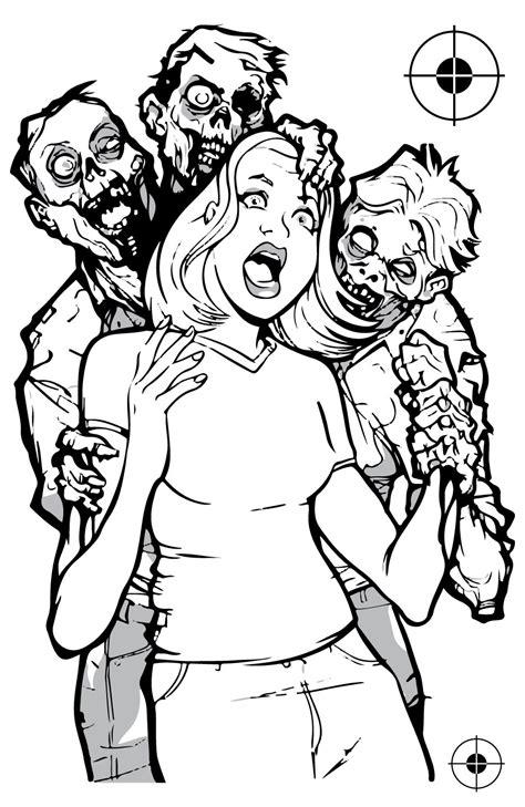 printable zombie animal targets printable hostage shooting targets www pixshark com