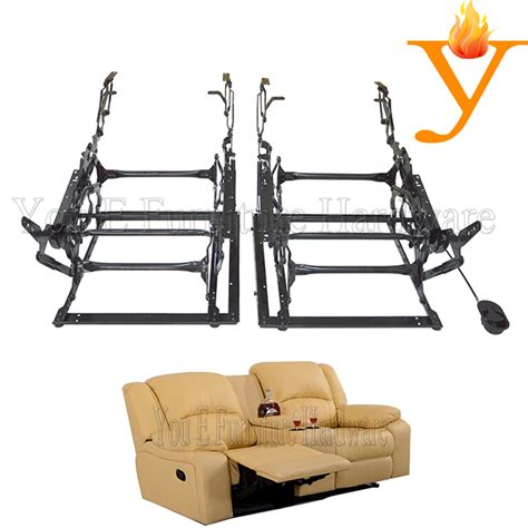recliner mechanism parts manufacturers whosale 2 seat sofa recliner chair hardware mechanism with