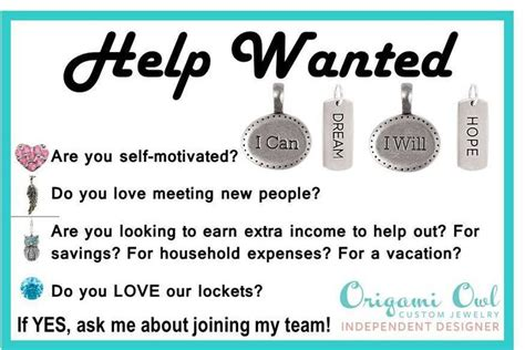 Contact Origami Owl - vip shout out help wanted contact origami owl