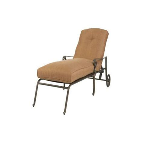 martha stewart chaise lounge martha stewart living miramar ii patio chaise lounge with