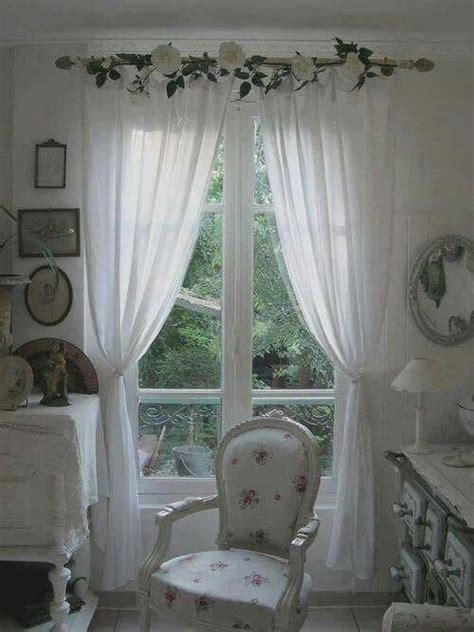 cottage curtains window treatments 25 best ideas about shabby chic curtains on