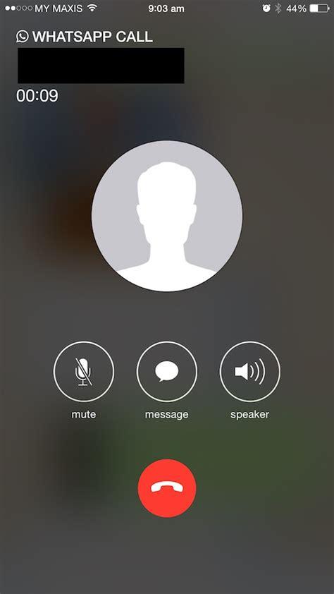 whatsapp  ios finally updated  voice calling