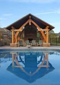 Kitchen Design Cambridge poolside pavilion modeled on medieval cruck frames david