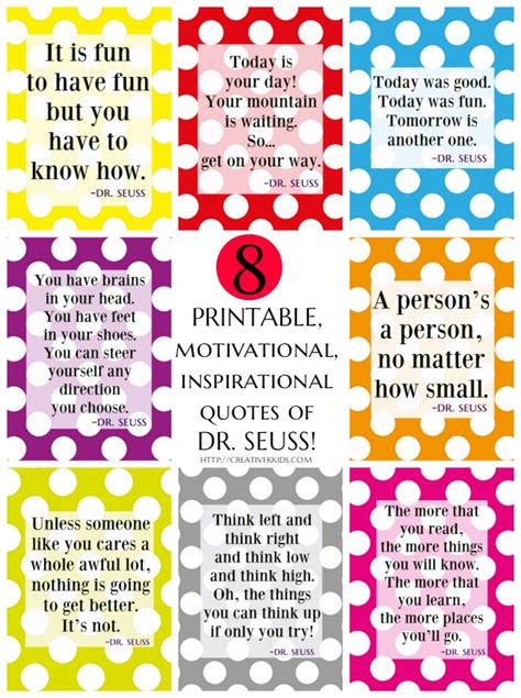printable list of inspirational quotes 8 free printable motivational inspirational dr seuss