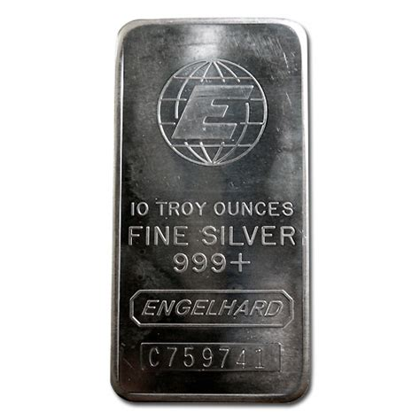 10 Oz Engelhard Silver Bar Price - engelhard silver bar 10 oz bar e globe golden