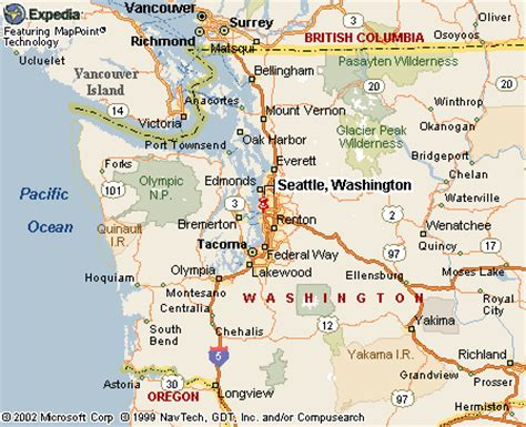 seattle washington map the best best seattle washington map