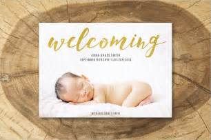 birth announcements card templates birth announcement template 23 psd ai eps format