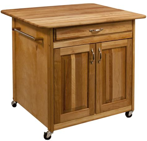 kitchen with butcher block island portable movable kitchen islands rolling on wheels