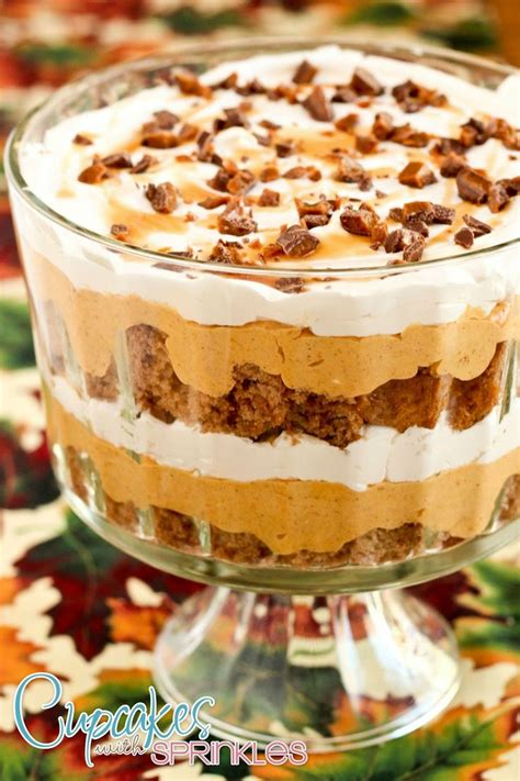 Cupcake Of The Week Pumpkin Chiffon Mousse With Gingersnaps by Best 25 Pumpkin Trifle Ideas On