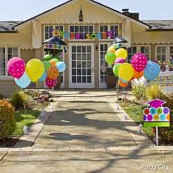 Decorating Ideas For High School Graduation A Colorful Graduation Inspired In Style