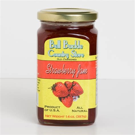 Jam Bell And bell buckle country store strawberry jam bell buckle