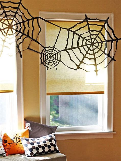 homemade halloween decorations   garbage bags