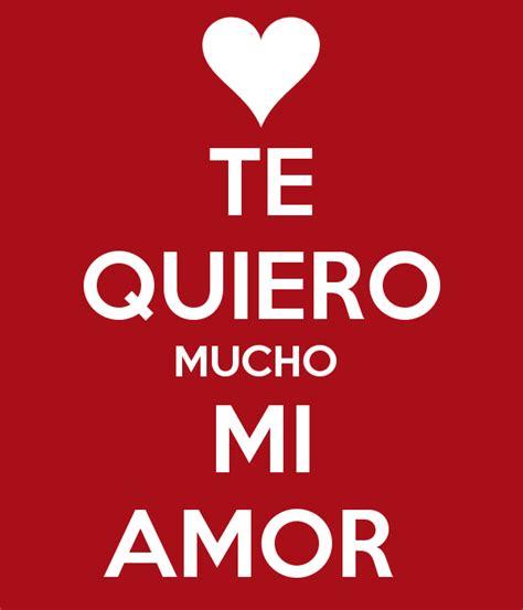 Imagenes Que Digan Te Kiero Mucho Mi Amor | te quiero mucho mi amor poster flor keep calm o matic
