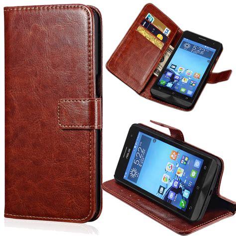 Casing Dompet Kulit Leather Wallet For Asus Zenfone 6 T0210 2 vintage zenfon 5 flip leather wallet for asus zenfone