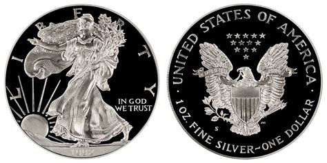 1 troy ounce american silver eagle coin value 1992 s american silver eagle bullion coins proof one troy