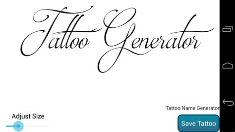 tattoo word design generator name design generator apk for android