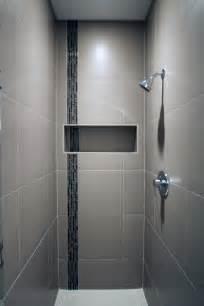 Modern Bathroom With Glass Tile Photos Hgtv