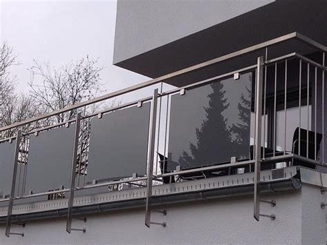 gel nder aus glas balkon glas balkongel nder glas aluminium balkon gel nder