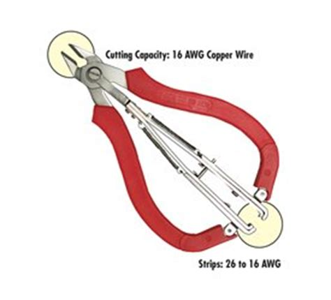 small wire strippers da76070 klenk two in one wire cutter and small