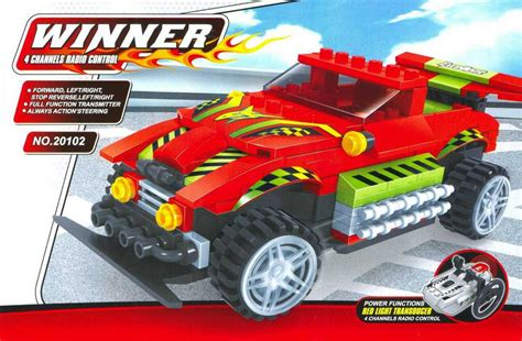 Ausini Winner 20109 Indo bricker construction by ausini 20102 rc car