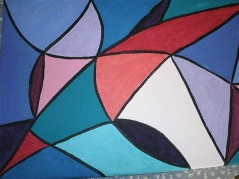 imagenes abstractas geometricas faciles pintura abstracta geometrica imagui