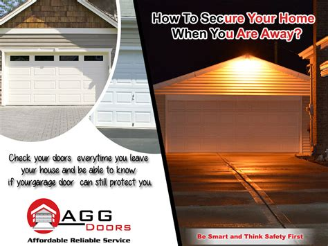 how to secure your home when you are away agg doors