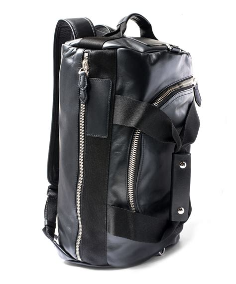 duffle backpack givenchy black convertible leather duffle backpack in