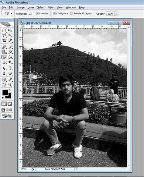 tutorial mengedit di vsco tutorial mengedit foto menjadi hitam putih hanya di bagian