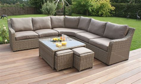25 best ideas of curved outdoor sofa sets