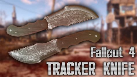 brown tracker tom brown tracker knife fallout 4 mod fo4